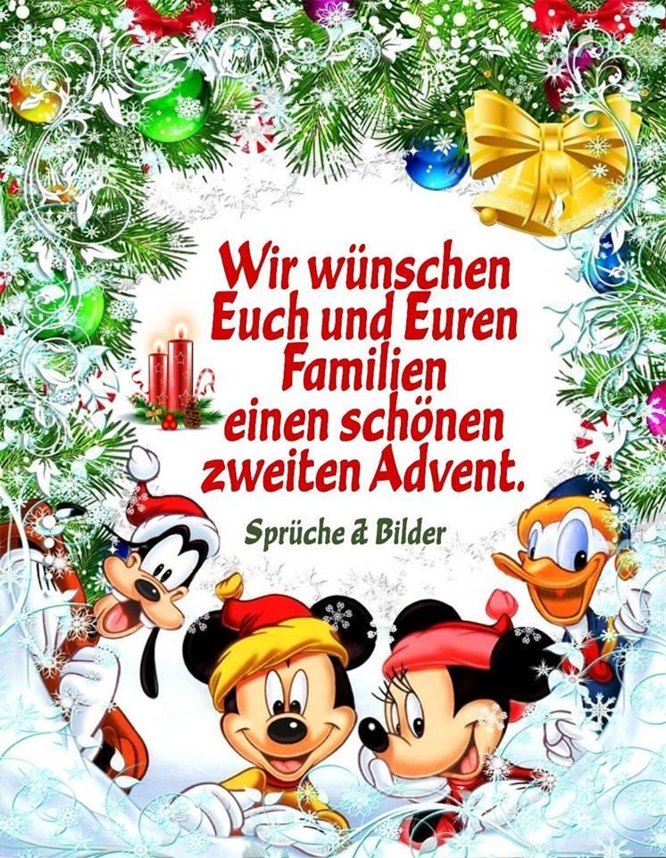 Wir wünschen Euch und Euren Familien einen schönen zweiten Advent.
