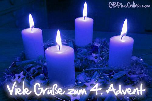 Viel Grüße Zum 4 Advent Bild 6381 Gbpicsonline