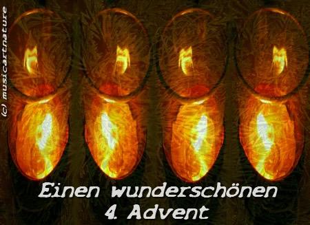 Einen wunderschönen 4. Advent