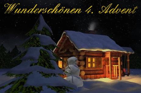 Wunderschönen 4. Advent