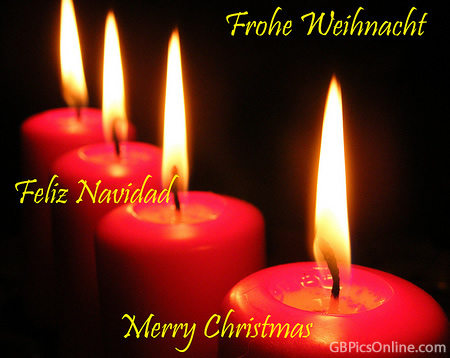 Frohe Weihnacht, Feliz Navidad, Merry...