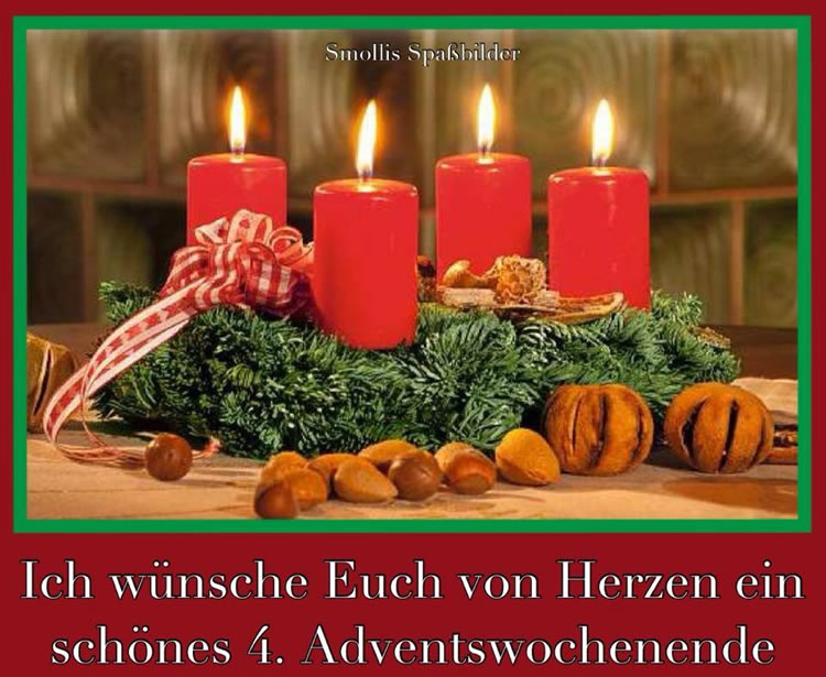 4 Advent 2017 Gedicht Lustig