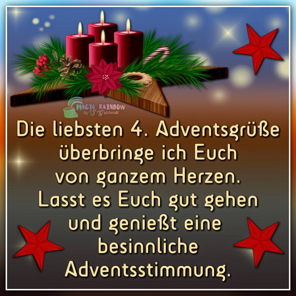 ᐅ 4 Advent Bilder 4 Advent Gb Pics Gbpicsonline