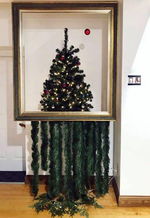 Banksy Weihnachtsbaum