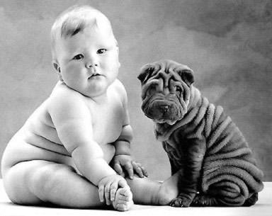 Ein Baby und tierischer...