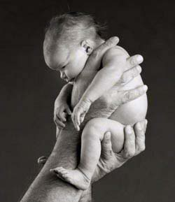Baby fest im Griff