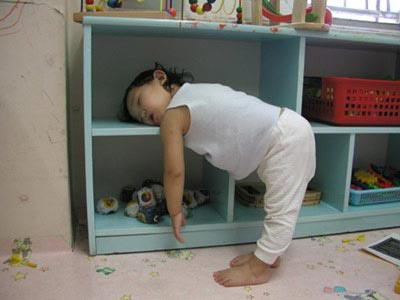 Power-Napping auf Baby-Art