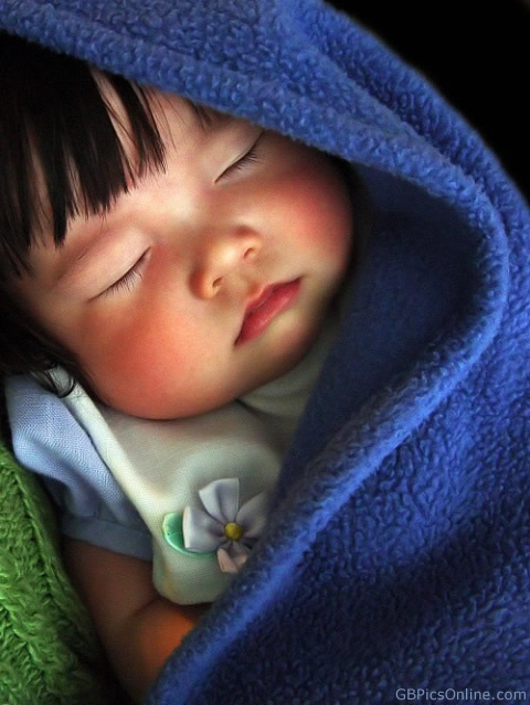 Schlafendes Baby...