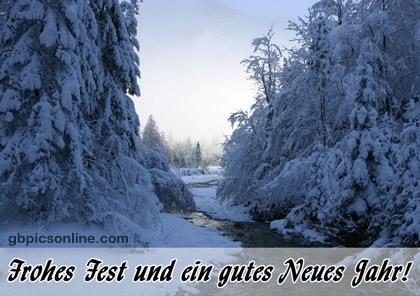 Frohes Fest und ein gutes neues Jahr!