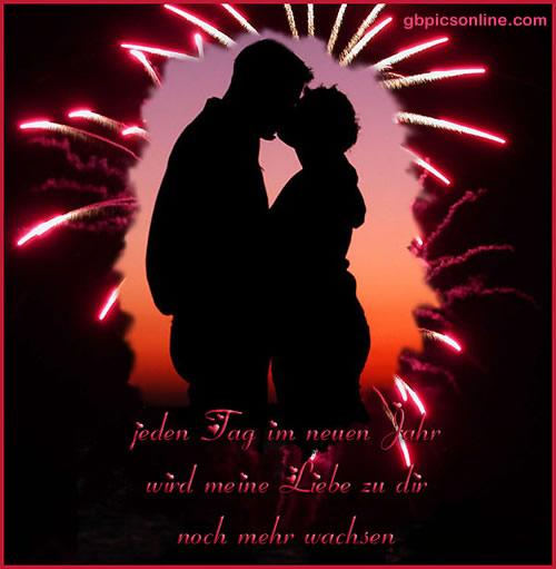 Jeden Tag im neuen Jahr wird meine Liebe...