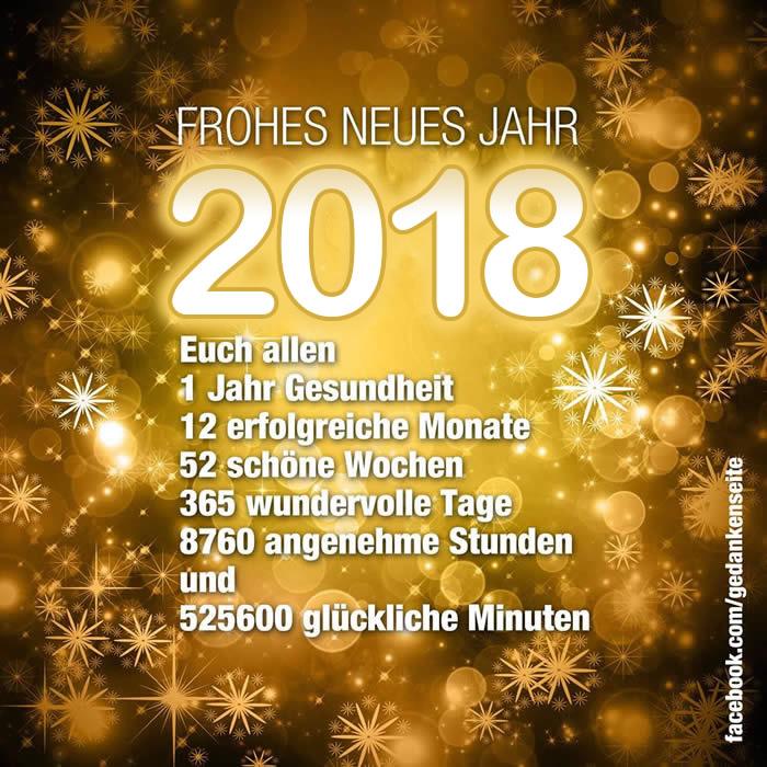 Frohes Neues Jahr 2018 bild 3
