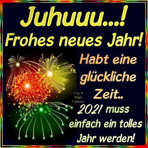 Juhuuu...! Frohes neues Jahr!...