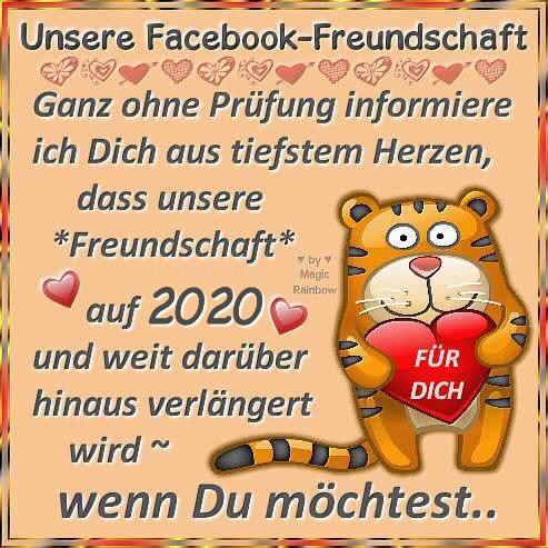 Unsere Facebook-Freundschaft...