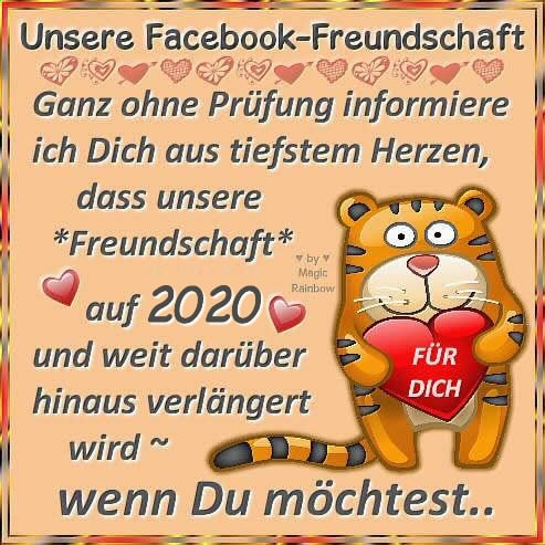 Unsere Facebook-Freundschaft - Ganz ohne...