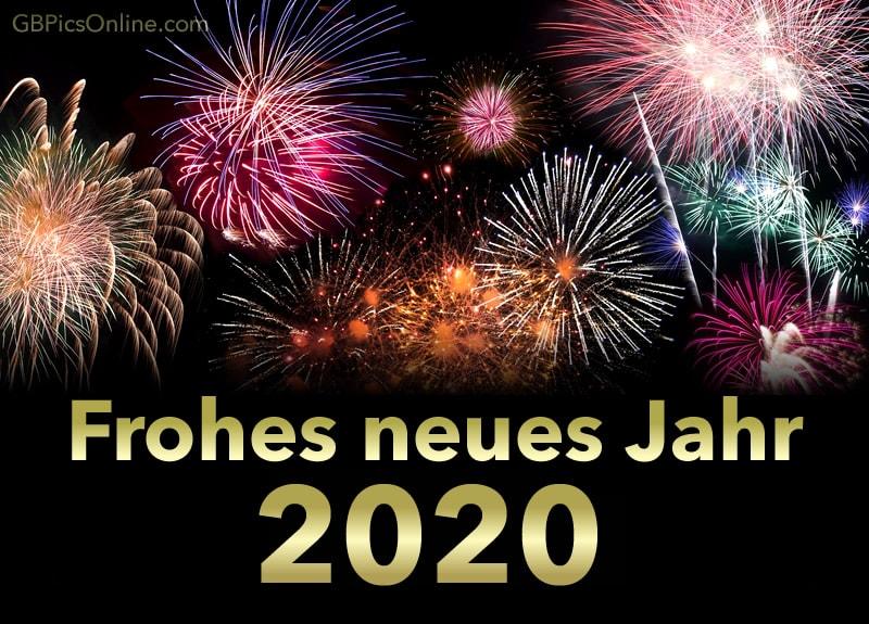 ein gesundes neues jahr 2020