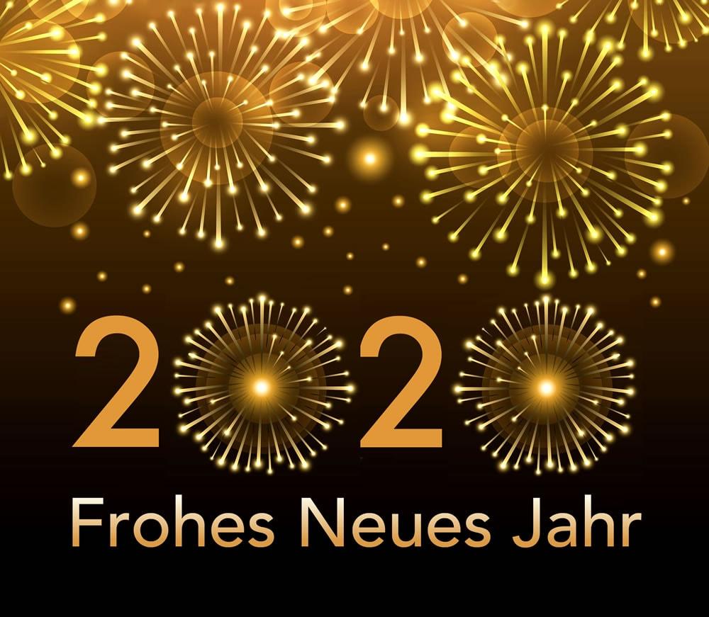 2020 - Frohes neues Jahr