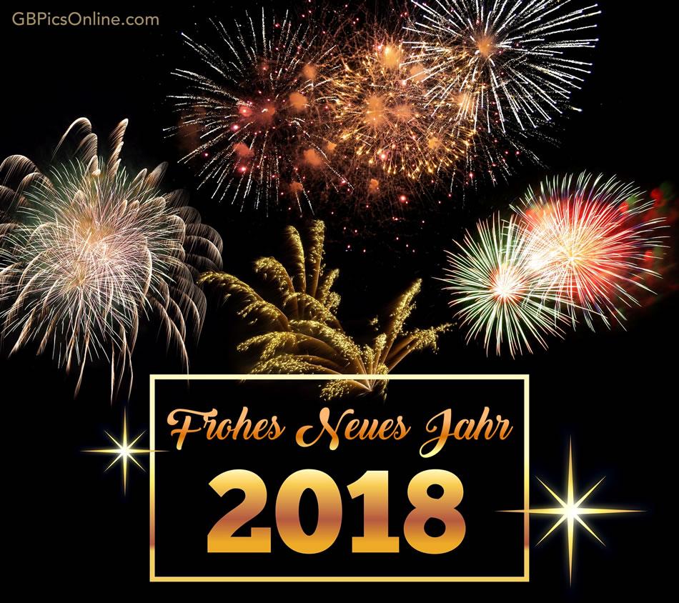 Frohes Neues Jahr 2018 bild