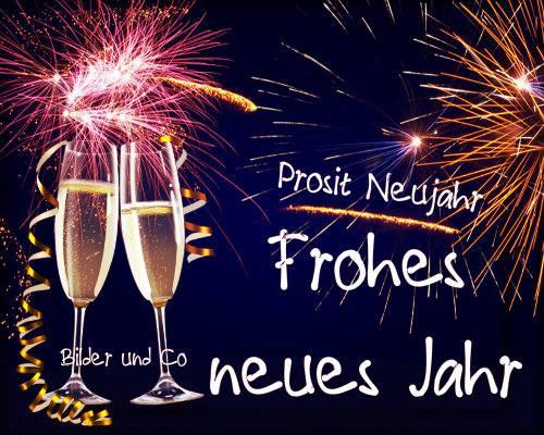 Prosit Neujahr Frohes neues...