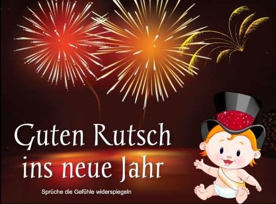 Guten Rutsch ins neue Jahr.