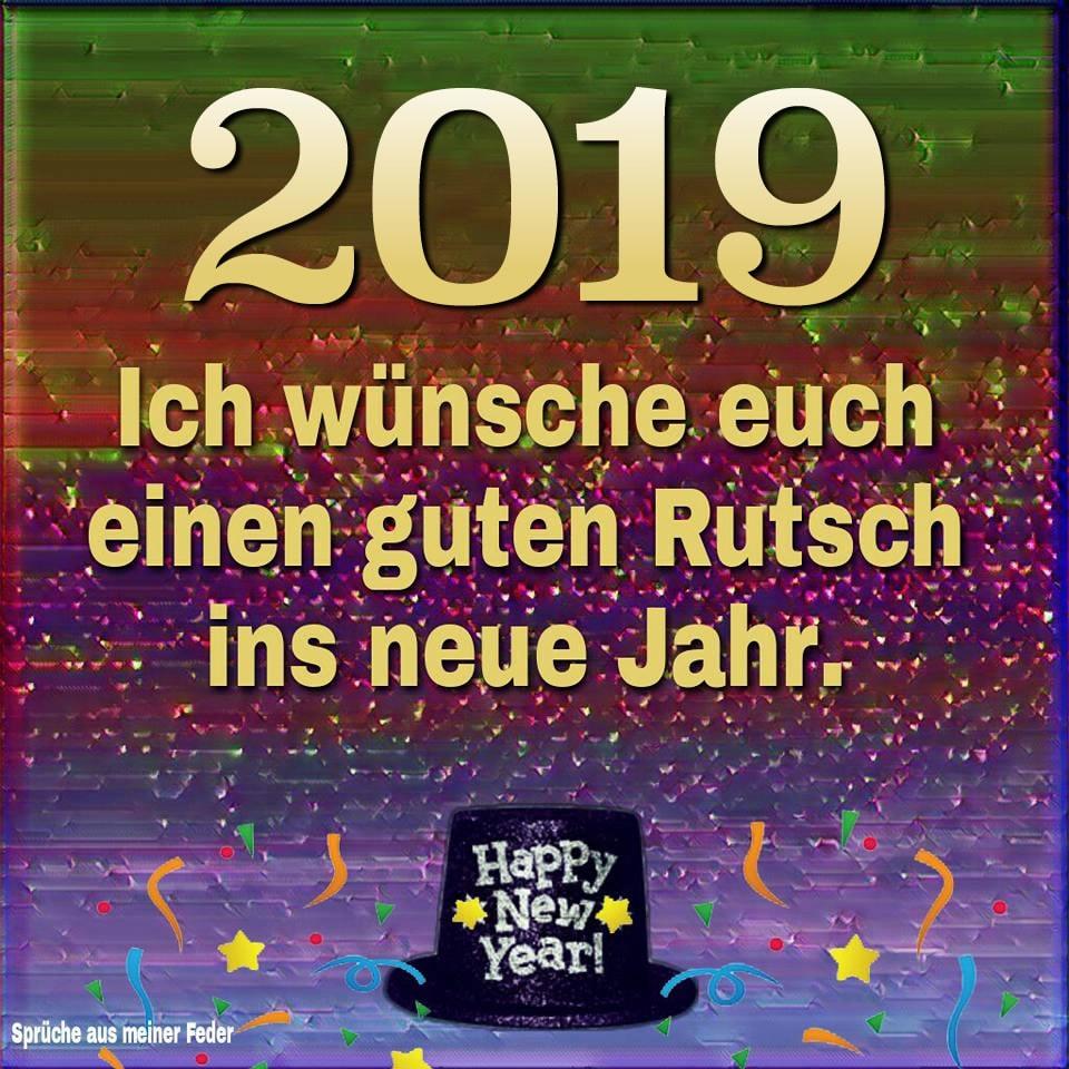 Einen Guten Rutsch Ins Neue Jahr 2019 Guten Rutsch Ins