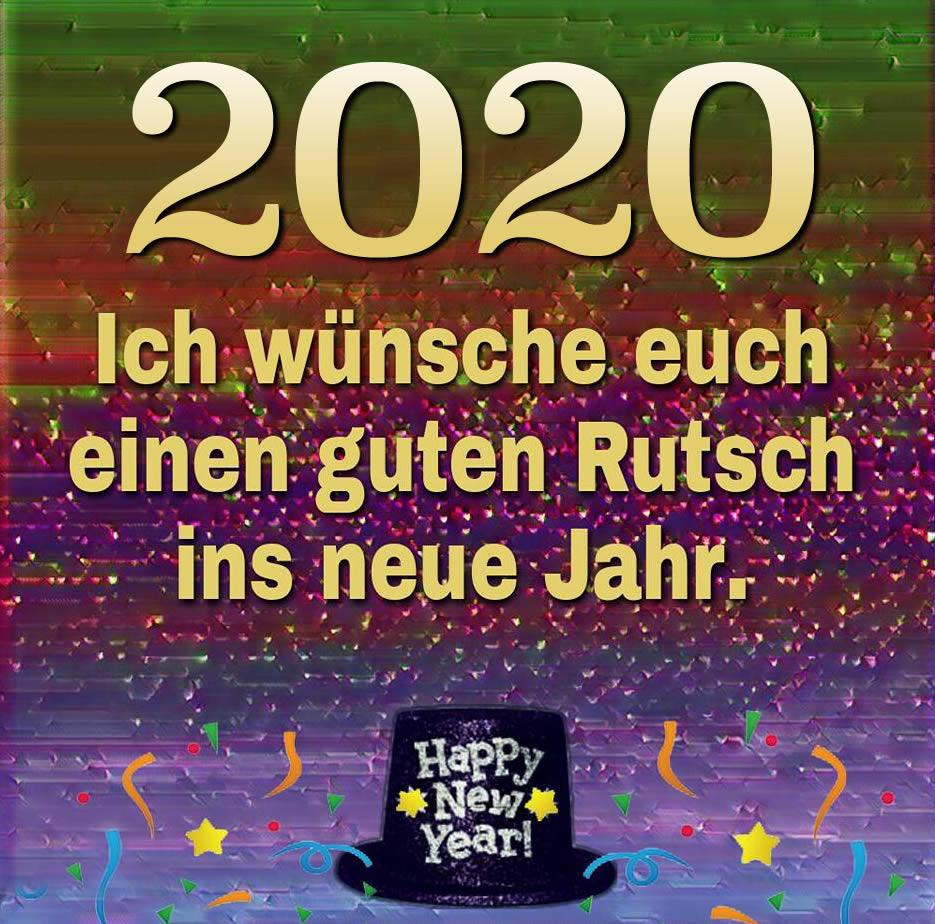 2020. Ich wünsche euch...