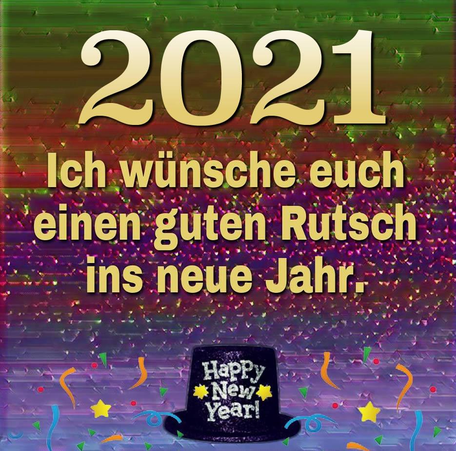2021. Ich wünsche euch...