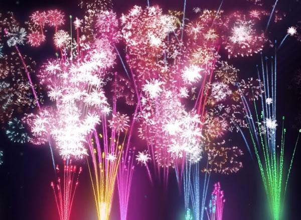 Feuerwerk bild