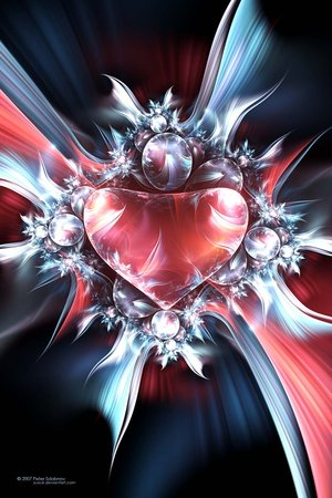 Majestätisches Herz