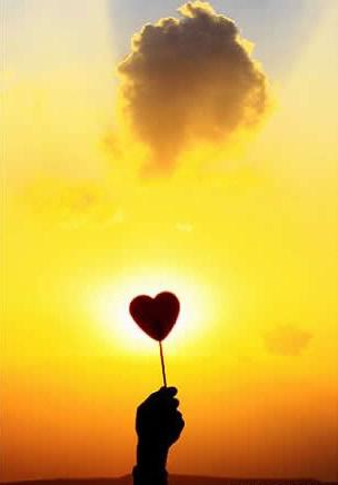 Der Herzlolli wird dem Himmel...
