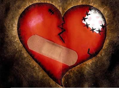 Geflicktes Herz