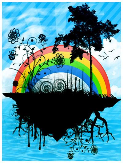 Regenbogen bild 13