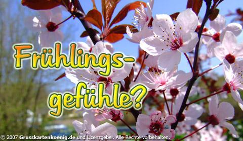 Frühlingsgefühle?