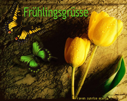 Frühlingsgrüsse