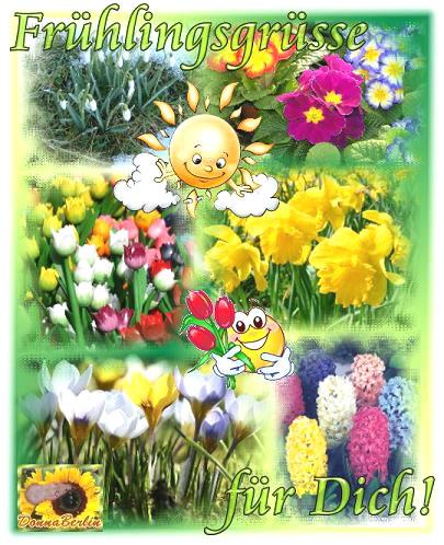 Frühlingsgrüße für Dich!