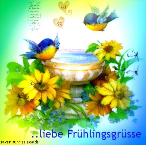 ...liebe Frühlingsgrüße.