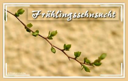 Frühlingssehnsucht