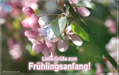 Liebe Grüße zum Frühlingsanfang!