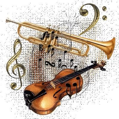Violine und Trompete