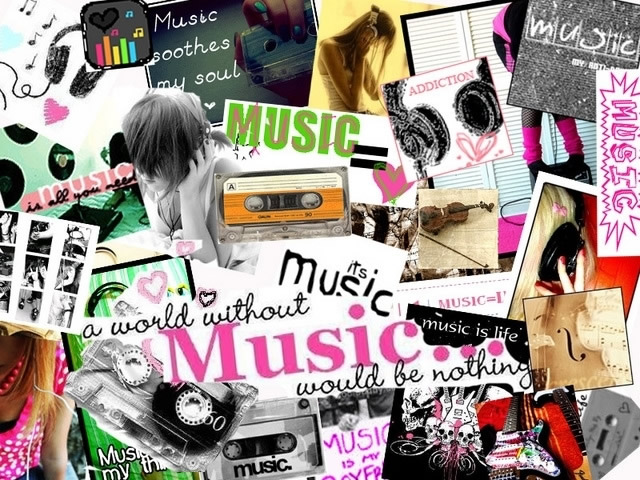 Musik-Collage