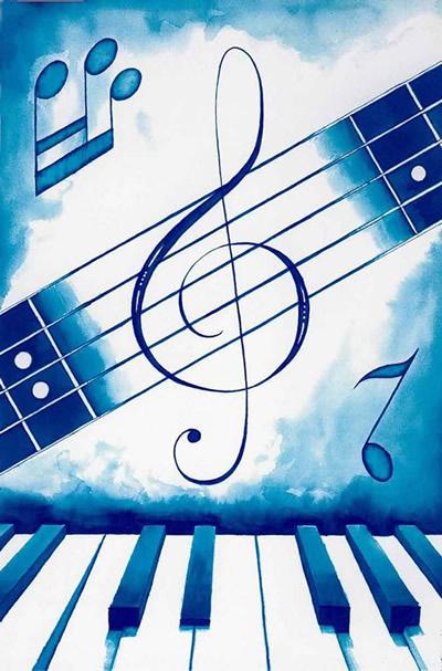 Violinschlüssel vor...