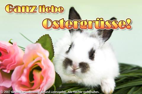 Ganz liebe Ostergrüße!
