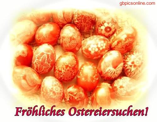Fröhliches Ostereiersuchen!