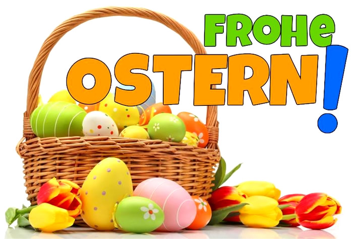 Frohe Ostern Facebook GB