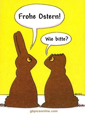 Schoko-Osterhase mit...