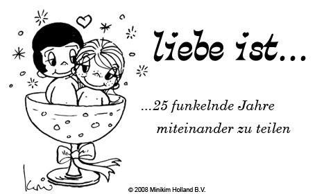 Liebe ist... 25 funkelnde Jahre...