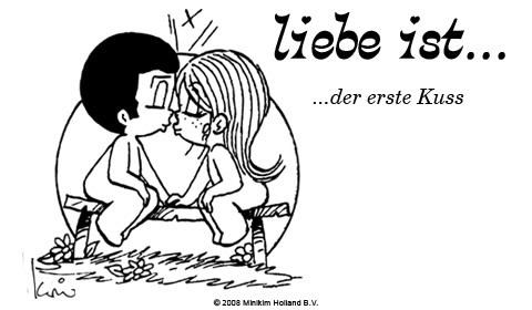 Liebe ist... der erste Kuss