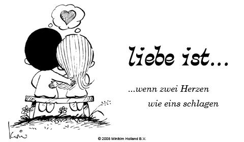Liebe ist... wenn zwei Herzen wie eins schlagen