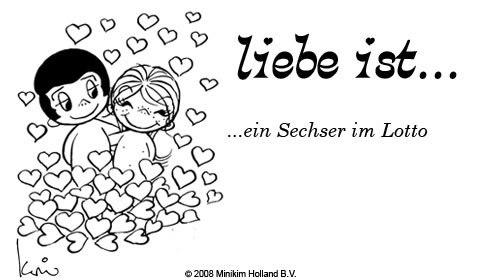 Liebe ist... ein Sechser im...