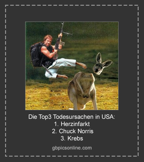 Die Top3 Todesursachen in USA: 1...