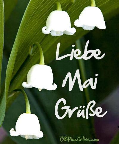 Liebe Mai Grüße